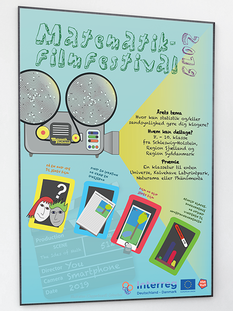 Poster from the 2019 Math filmfest.