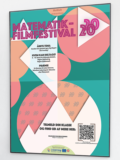 Poster from the 2020 Math filmfest.