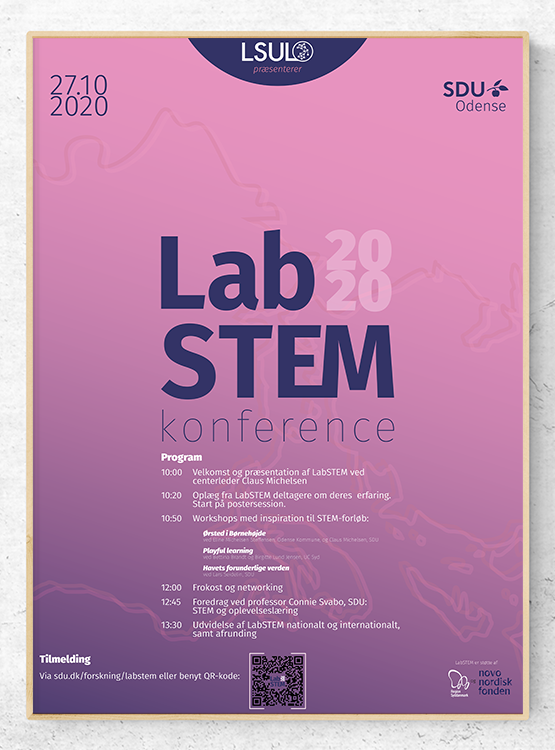 showcase of labSTEM conference poster